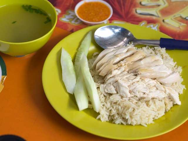Perhaps the most famous Singaporean dish is Hainanese chicken rice. Everyone has their own favorite spot for the dish, but some of the more famous local spots are Tian Tian Chicken Rice and Wee Nam Kee Hainanese Chicken Rice.