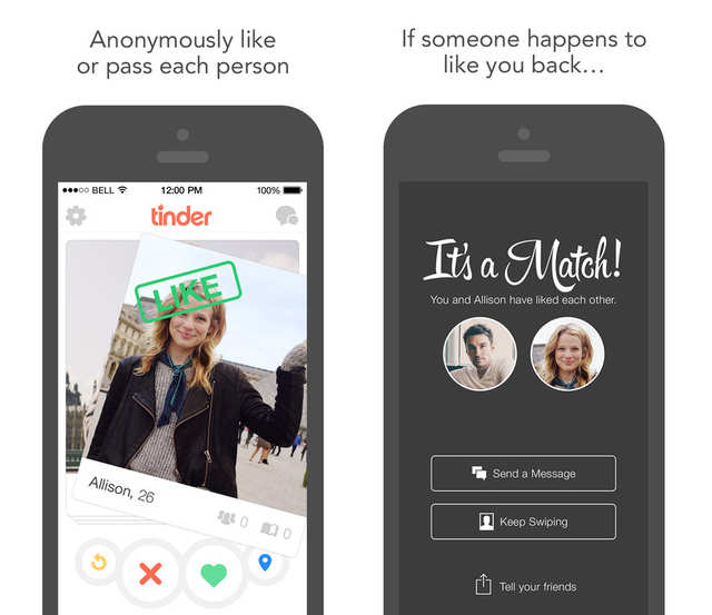 Dating app where you swipe