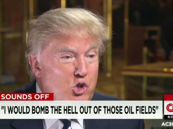 DONALD TRUMP: 'I would bomb the s--- out of' ISIS ...