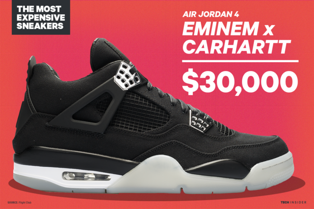 6c375ada4 The 17 most expensive sneakers in history