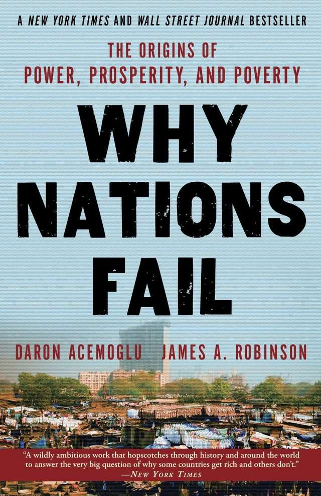 why nations fail book rep1 Buy why nations fail: the origins of power, prosperity and poverty main by  daron acemoglu, james a robinson (isbn: 8601200772197) from amazon's  book.