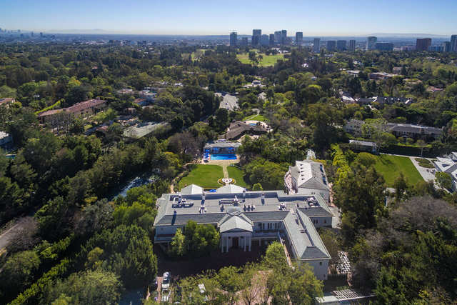 A Legendary Fashion Designer Is Trying To Sell His 60 Room Los Angeles Mansion For 88 Million Businessinsider India
