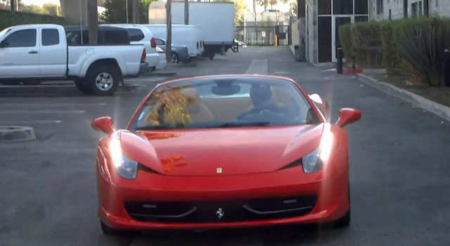 He once walked into a Ferrari dealership and wrote a $329,000 check for a 458 Italia.