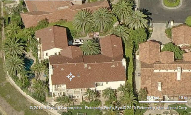 He owns three houses that were estimated to be worth $18.8 million in 2012. All of them are in Orange County, California, a lengthy drive from the Staples Center.