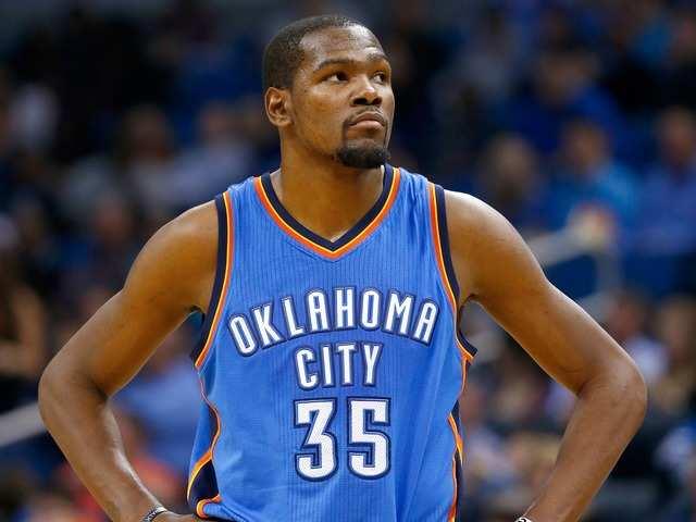 No. 6 Kevin Durant