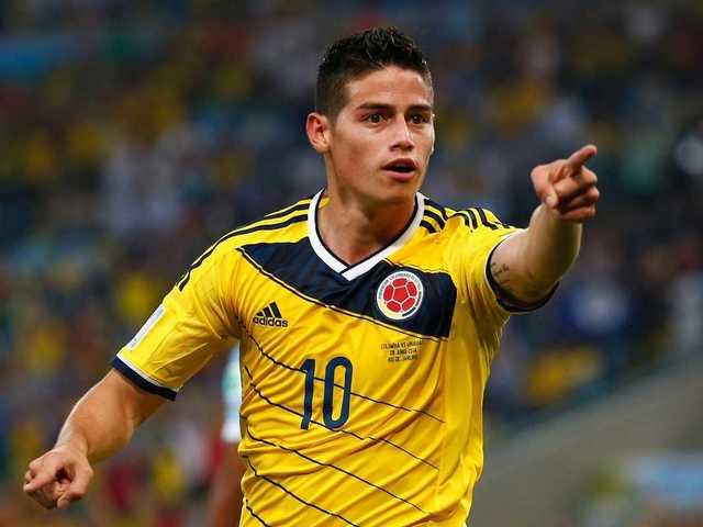 No. 8 James Rodriguez