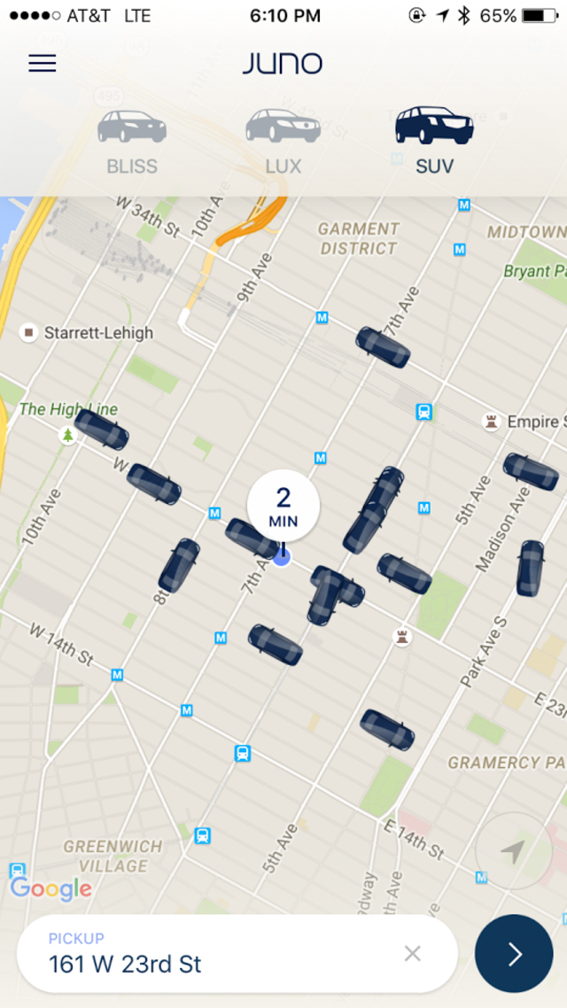 We tried the new app that thinks it can beat Uber to take