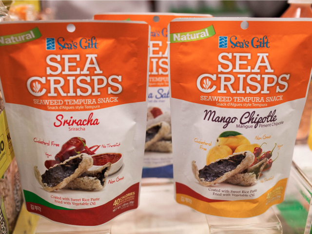 All of the weird things I ate at the Summer Fancy Food Show
