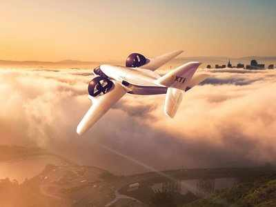 This futuristic jet takes off vertically so you can keep it in your backyard