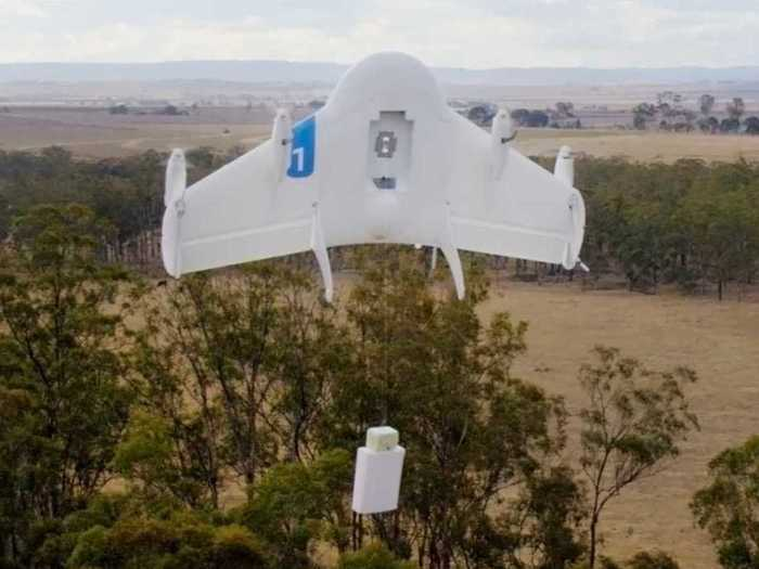 We could start seeing delivery drones finally start making deliveries in the next two years.