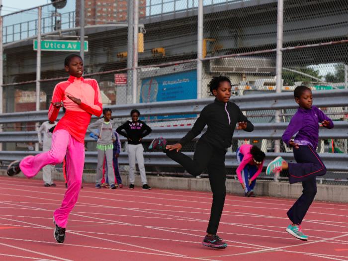 Meet Tai Sheppard, 11,  Rainn Sheppard, 10, and Brooke Sheppard, 8. They're running superstars.