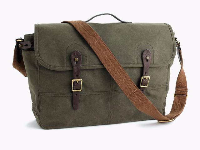 c5477bad9207 work bag for men the best laptop bags mens vintage leather.  75   J.Crew  Abingdon Messenger Bag