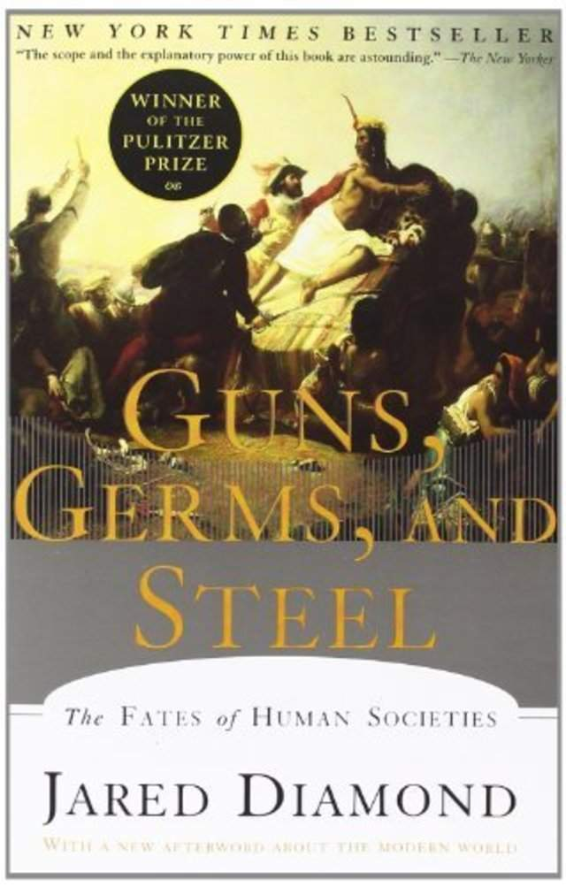 history as told from the hands of fate in guns germs and steel by jared diamond Jared diamond  guns, germs, and steel: the fate of human societies by jared diamond  the autobiography of malcolm x as told by alex haley--full-text.