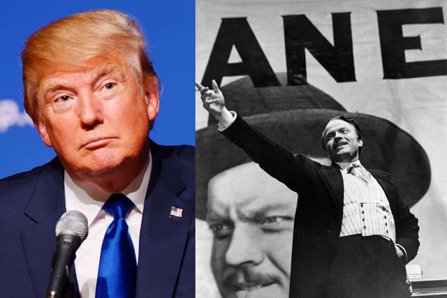 Presidential nominees donald trump citizen kane the good