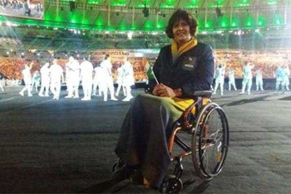 Deepa Malik wins silver in shot put
