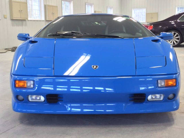 Donald Trump S Old Lamborghini Is Up For Sale On Ebay Businessinsider