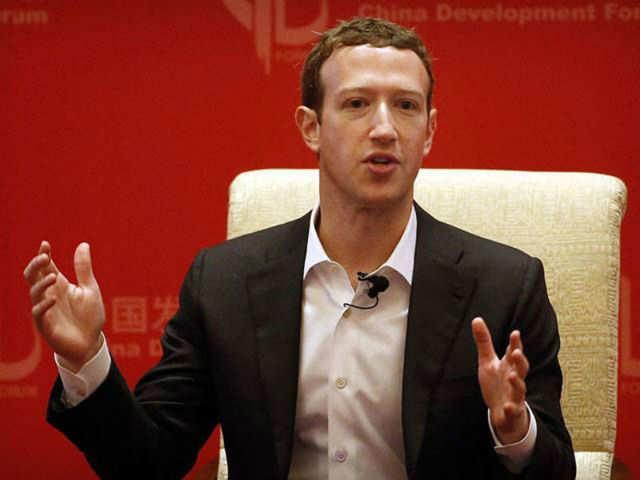 Mark Zuckerberg, CEO and founder, Facebook