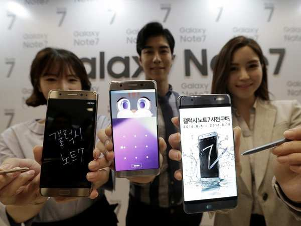 500K Samsung Galaxy Note 7 Replacement Phones to Hit Stores Wednesday