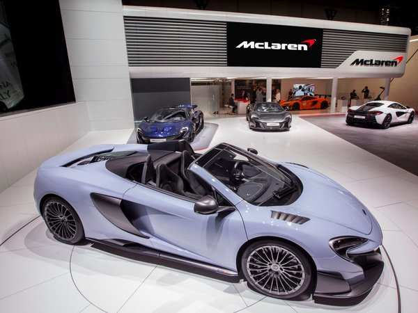 Apple eyes British supercar maker McLaren - FT