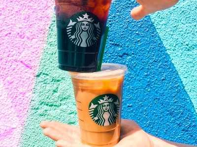 Starbucks is testing an entirely new way to bring you your iced latte