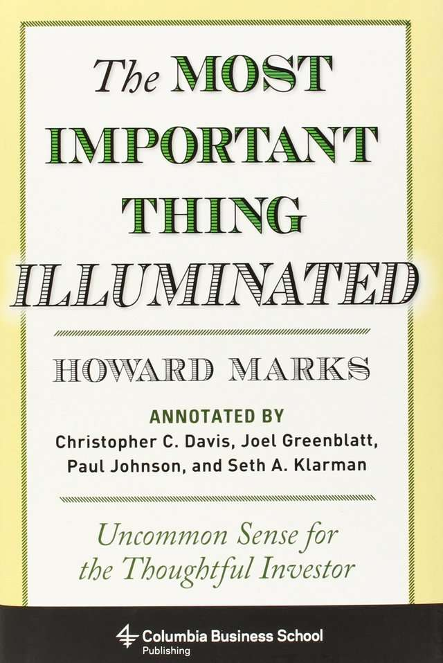 'The Most Important Thing Illuminated' by Howard Marks Warren Buffet