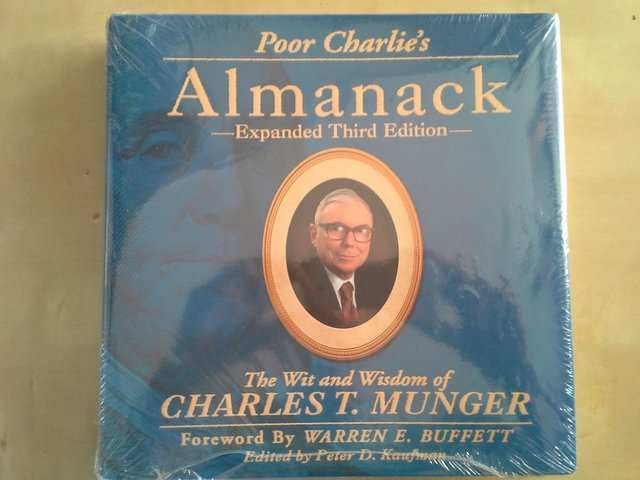 'Poor Charlie's Almanack' edited by Peter Kaufman