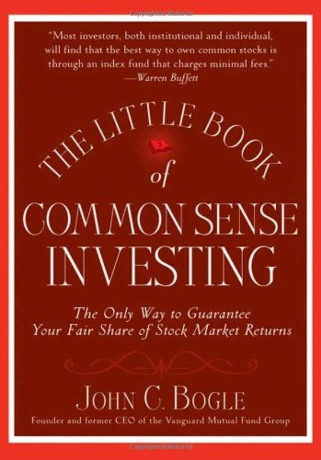Warren Buffet 'The Little Book of Common Sense Investing' by Jack Bogle