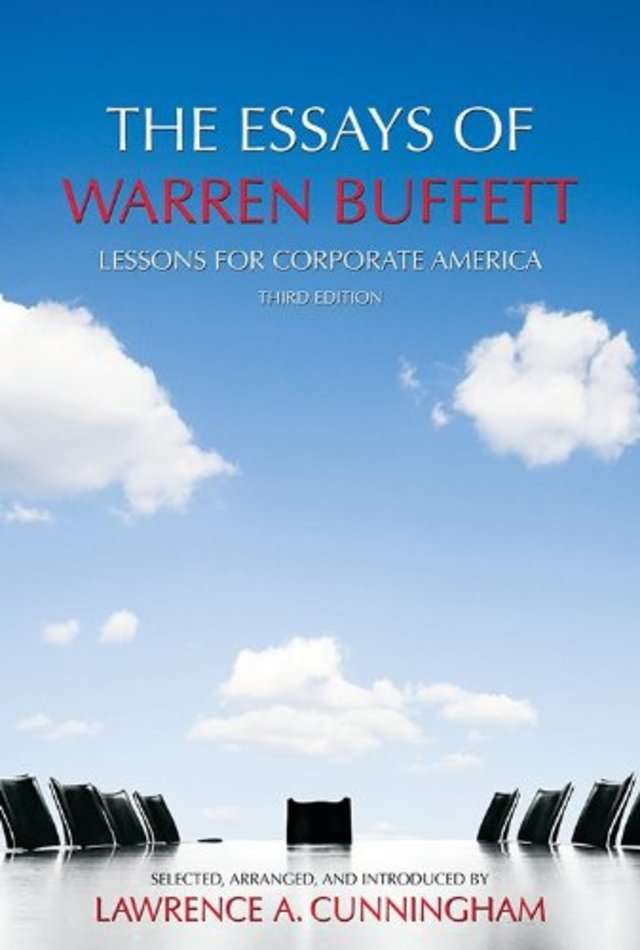 Warren Buffet 'The Essays of Warren Buffett' by Warren Buffett
