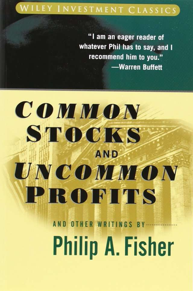 Warren Buffet 'Common Stocks and Uncommon Profits' by Philip Fisher