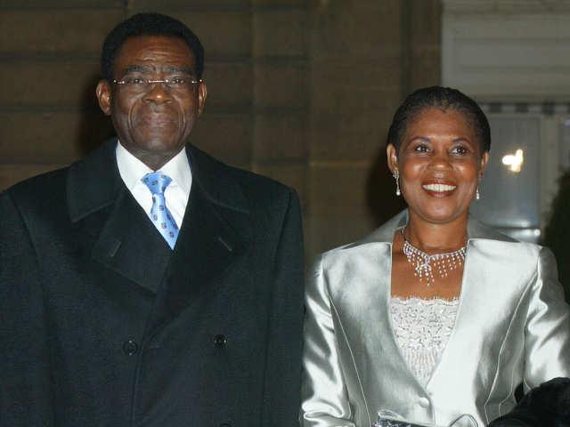 Teodoro nguema obiang mangue wife sexual dysfunction