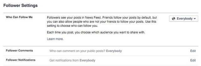 "Know the distinction between a ""friend"" and a ""follower"" on Facebook."