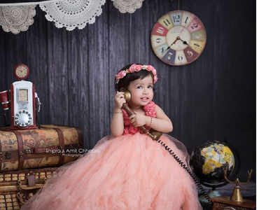 Dhoni's daughter just did a photoshoot and it's cuteness overloaded