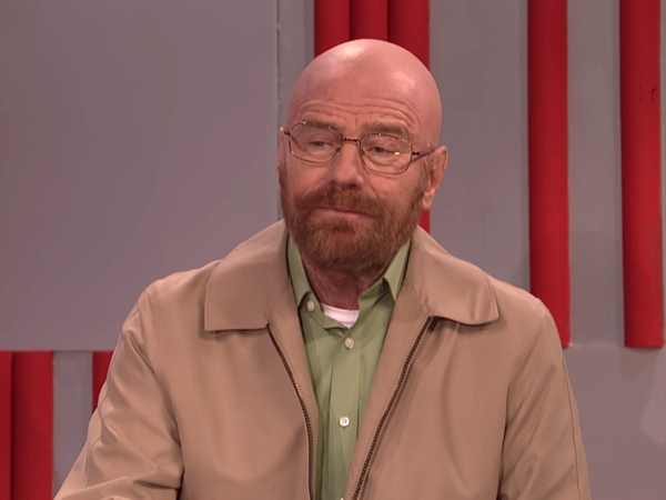 Bryan Cranston mocks Trump's cabinet as Walter White, DEA head