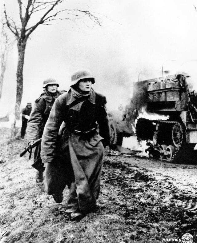 Image result for ww2 German soldiers battle of the bulge