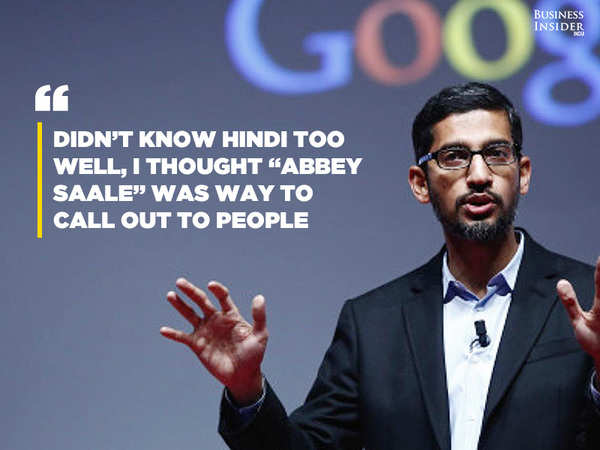Google's CEO Thought Gmail Was a Joke During His Job Interview