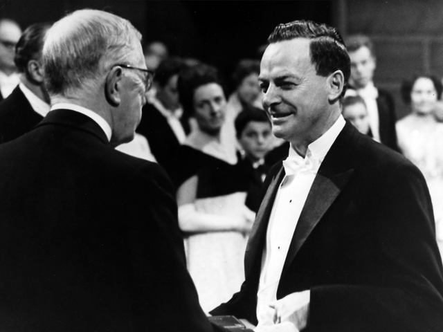 Richard Feynman, theoretical physicist: