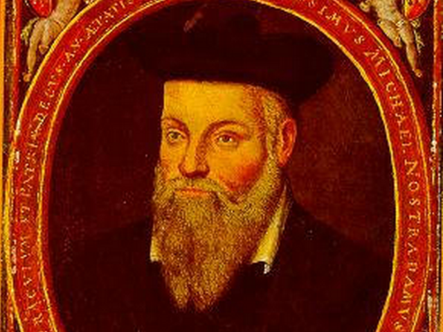 Michel de Nostradamus, French apothecary and alleged soothsayer: