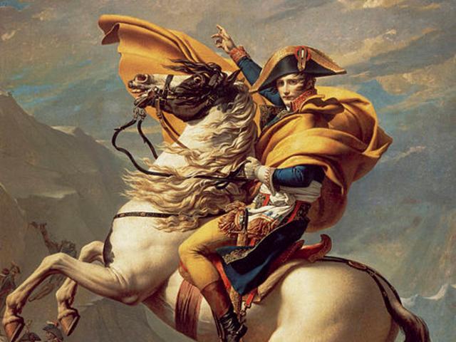 Napoléon Bonaparte, French military and political leader: