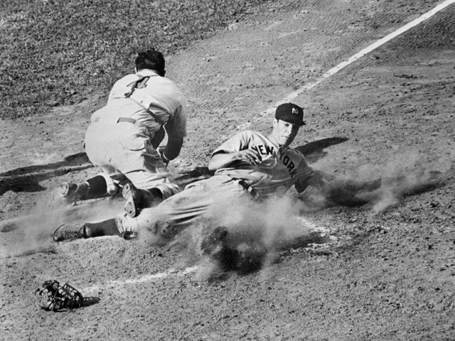 Joe DiMaggio, baseball player: