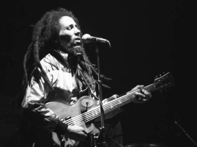 Bob Marley, musician: