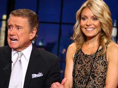 Regis Philbin says he and 'Live' host Kelly Ripa don't talk: 'She got very offended when I left'