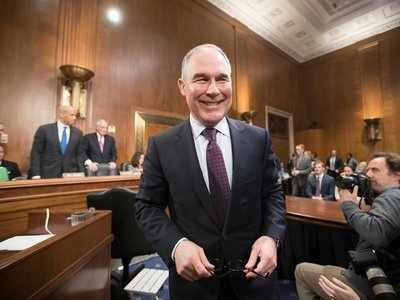The Senate just confirmed Scott Pruitt to lead the EPA, despite unreleased emails