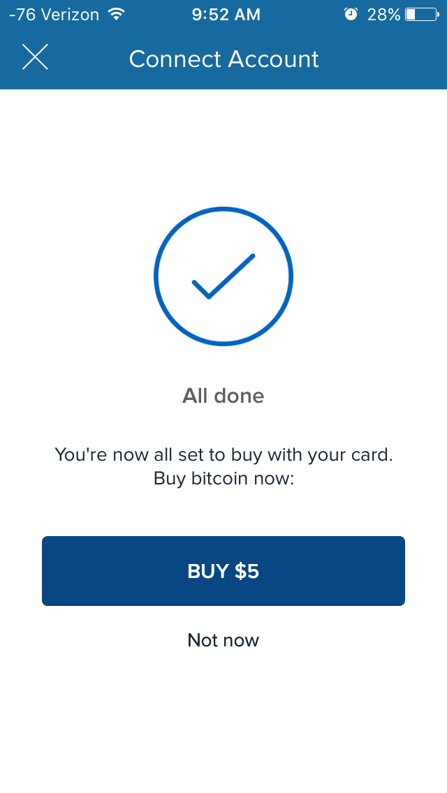 """Entering all my information was just as straightforward as everything else. The problem was that I couldn't exit this screen. Neither the """"buy"""" nor """"not now"""" option registered. I had to press the X and start all over."""