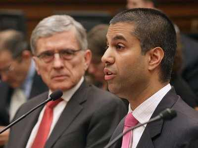 The new FCC boss has taken his latest shot at today's open-internet laws