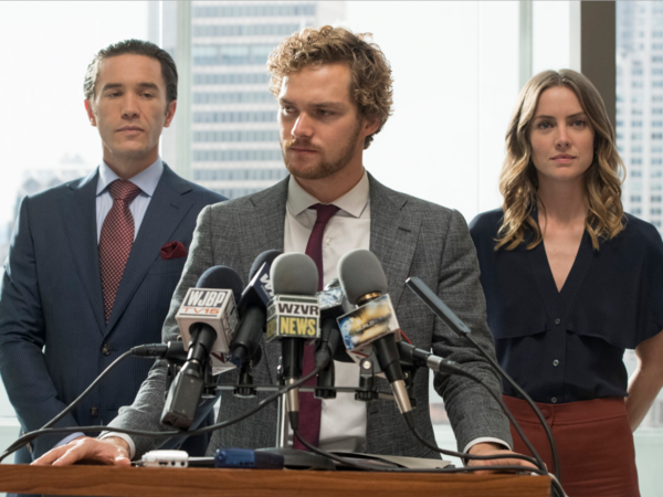 There's a new superhero on prime time: 'Iron Fist'