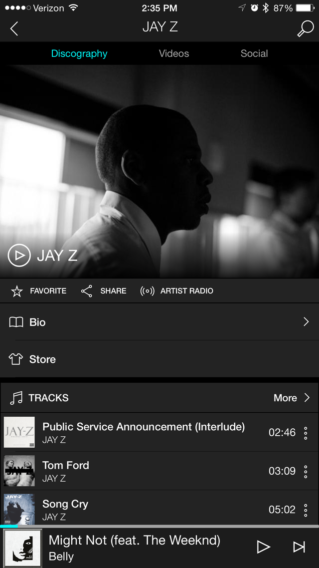 Tidal — 30-day free trial