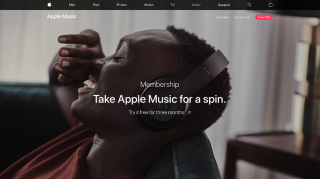 Apple Music — 90-day free trial
