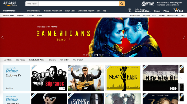 Amazon Instant Video — 30-day free trial, 6 months for students