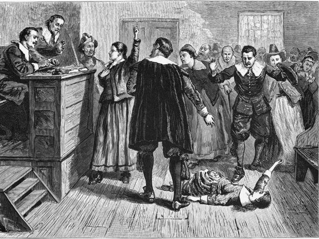 THEN: Witches in Salem were burned at the stake