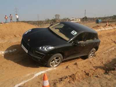 We took the Rs 1.27 crore worth Porsche Cayenne for an off road drive and here's why it is the best four-door sports car